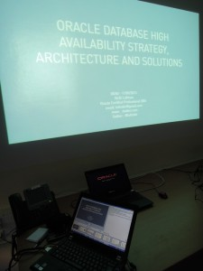 My DOAG presentation about Oracle database HA solutions