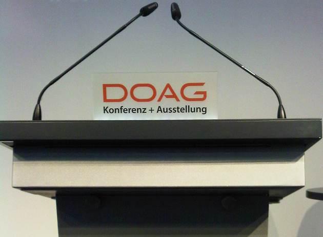 DOAG Conference 2013 in Nuremberg