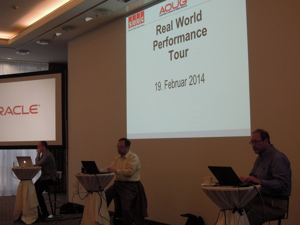 Oracle Real World Performance Tour seminar in Munich