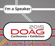 Kirill Loifman is DOAG 2015 conference speaker dadbm.com